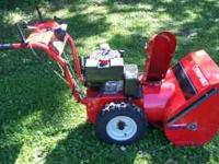 "8HP 24"" TROY-BILT by Garden way not MTD MADE. This"