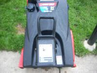 TROY-BUILT SQUALL 210 SNOWBLOWER ~IN LIKE NEW CONDITION