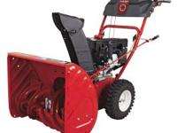 For sale is an almost new Troy-Bilt Storm 2410