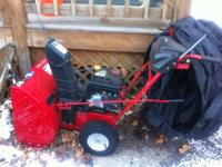 I have a Troy-Bilt Storm 5024 Snow Blower used only