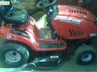 "Troy Bilt Super Bronco mower 21hp 42"" cut I am selling"