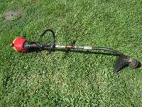 Troy-Bilt weedeater in good shape CALL  NO EMAILS OR