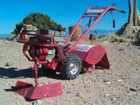 6 HP Tecumseh engine.pull start, has forward and