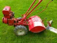 This rototiller is a jewel that you cannot buy new