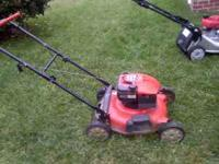 This mower is in great condition, has mulching option,