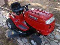 "For sale is a like new Troy Built Mower. 42"" deck, 17.5"