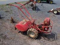 "We have a Troybilt ""Horse"" Rear Tine Tiller for sale."