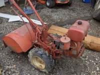 Troybilt rear tine tiller, horse model, runs good, $450