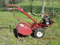 This 7HP Troybilt is one rugged tiller. Especially, now