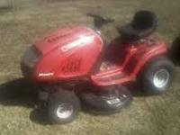 this mower is in good shape. new if not good tires