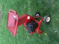 I have a Troy Bilt 4634t chipper for sale. It starts