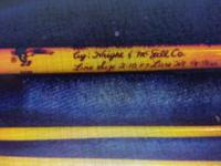 Trp 600 wright mcgill spin fly rod in good used