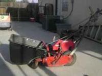 Mclane Front Throw Reel Mower Selfpropelled 7 Blade