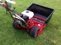 This is Extreme duty 7 blade reel mower is equipped