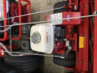We have a Tru-Cut C-27 power reel mower on special.