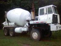 1979 CCC concrete truck 6X6 with a 6-71 detroit 13