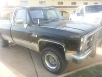 Selling my 1984 GMC 1/2 Ton 6.2L diesel 4X4. This truck