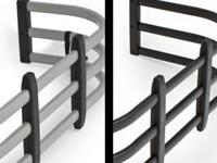 We have a variety of grille guards, bull bars, and step