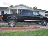 2008 Dodge Laramie 3500 4x4 Mega Cab, Dual Wheels,