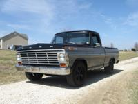 1968 Ford F100 short bed with 360 V8, AT, PS, new
