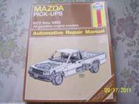 I have 4 truck/auto repair manuals. (1) Haynes manual #