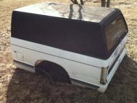 Truck bed for 1982-1992 Chevrolet s10. Bed is in