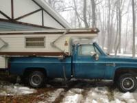 Hello i have a older model truck bed camper. It has