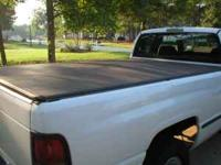 truck bed cover and mounting hardware for 8ft. bed.