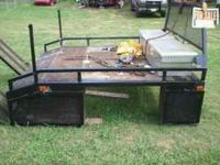 this truck bed came off my 04 ram. it was custom built