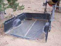 Hard plastic long bed truck bed linner came out of a