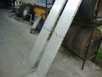 2 Stainless Steel Bed Ramps-----light