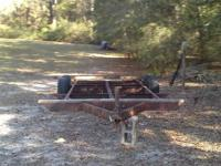 I have an aged trailer framework that use to be an auto