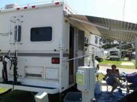Truck camper with Gen!!! Clean & & VERY spaces indoor,