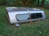 For sale a 8 ft. fiberglass truck cap in excellent