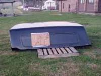 Black 8 ft bed truck cap. Good condition. $500 obo.