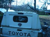 Sturdily built Utility Truck Cap for a small Toyota