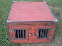 Professional built dog box. Built for small truck, but