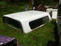 UP FOR SALE WHITE- LONG BED FIBERGLASS SHELL CAME OFF A