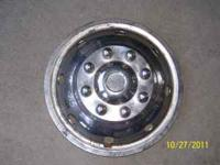 "16"" stainless 8 lug wheel cover for 4/4 or 1 ton"