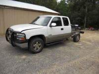 TRUCK PARTS OFF 2000 CHEVY 1500 4X4 core surport $300