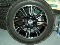 "20"" Rims and tires. TOYO A/T Open Country P275/55 R"