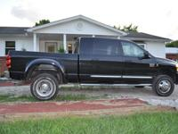 2008 Dodge Laramie 3500 4x4 Mega Taxicab, Dual Wheels,