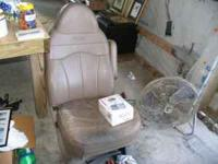 I have two truck seats/captains chairs for a big size