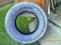 bridgestone tires , 265-70-17, very good condition, set