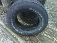 I have 4 BFGoodrich Rugged Trail T/A tires size P275/65
