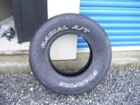 Hello, for sale are 2 truck tires, 265-75-16 white
