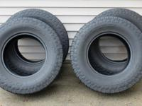 NITTO CROSSTEK LT285/70R17E, light truck tires rated at