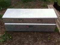 "For sale: Truck tool box Dimensions Are 48"" wide 20"""