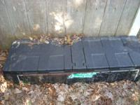 plastic tool box for mid size truck .  50 0B0