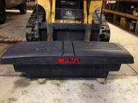 "Offering a ""Delta"" truck toolbox for a small to"
